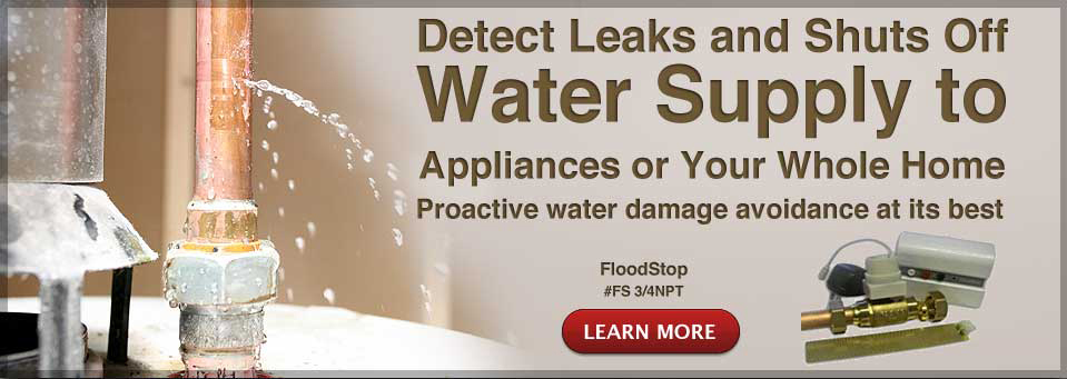 Catch Water Leaks Before They Cause Real Damage Water Alarm Banner